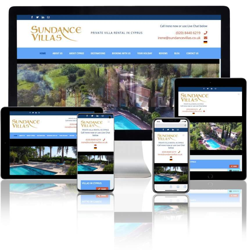 Property Rental WordPress Website Design