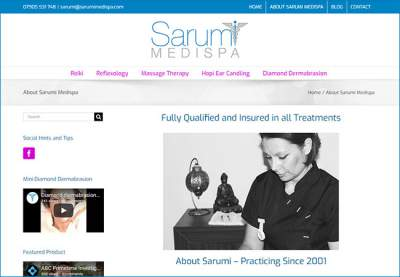 sarumi-medispa-website-builder-north-london