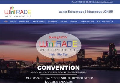 WinTrade-community-event-conference-website-women-in-business