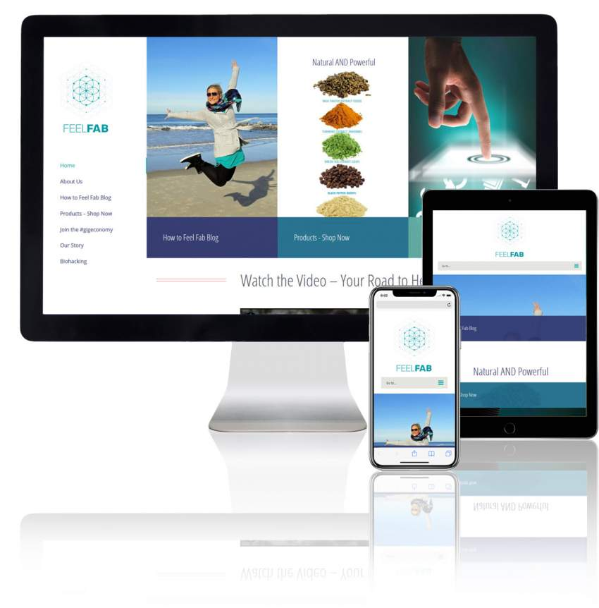 Wellness WordPress Website Design