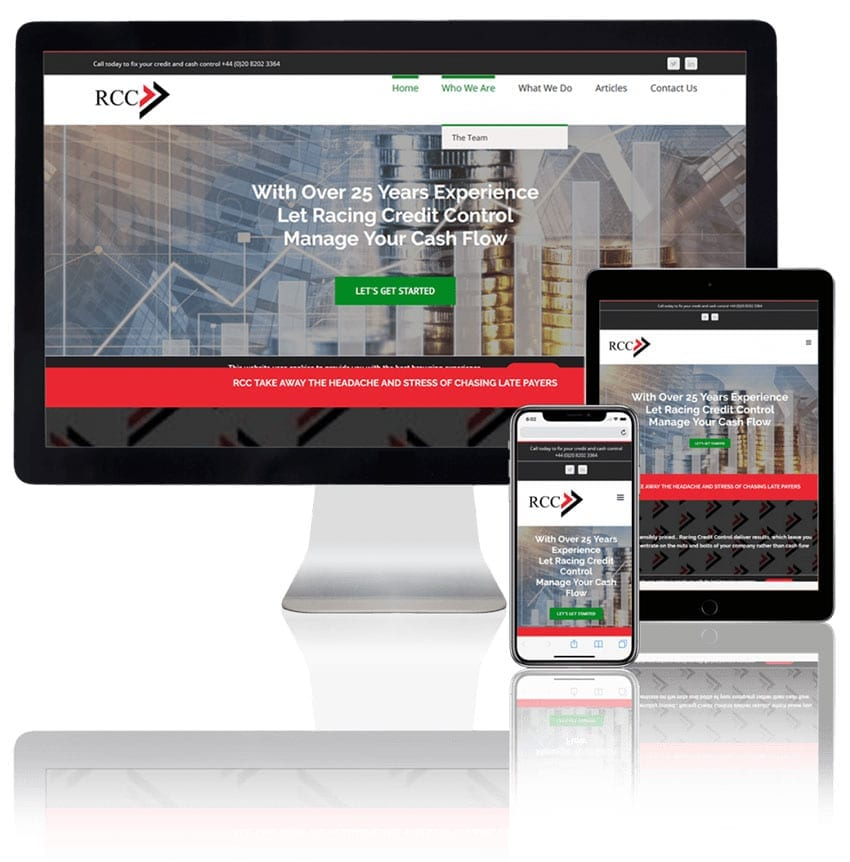 racing-credit-control-website-design-financial-industry